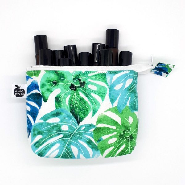essential oil zipper pouch