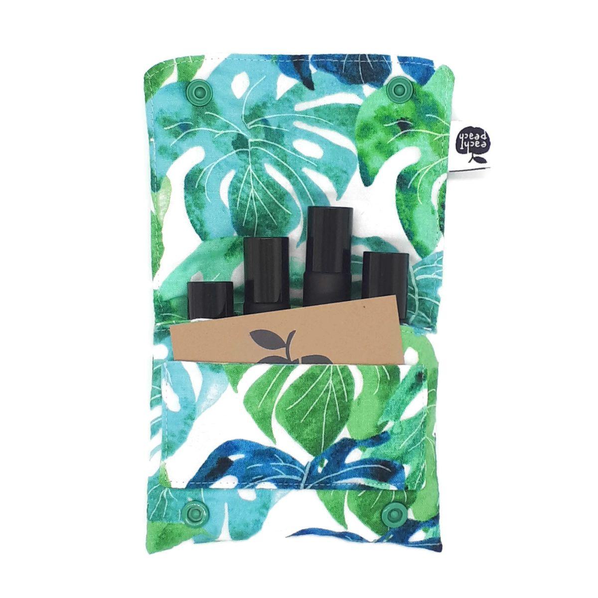 roller-bottle-wallet-leaves