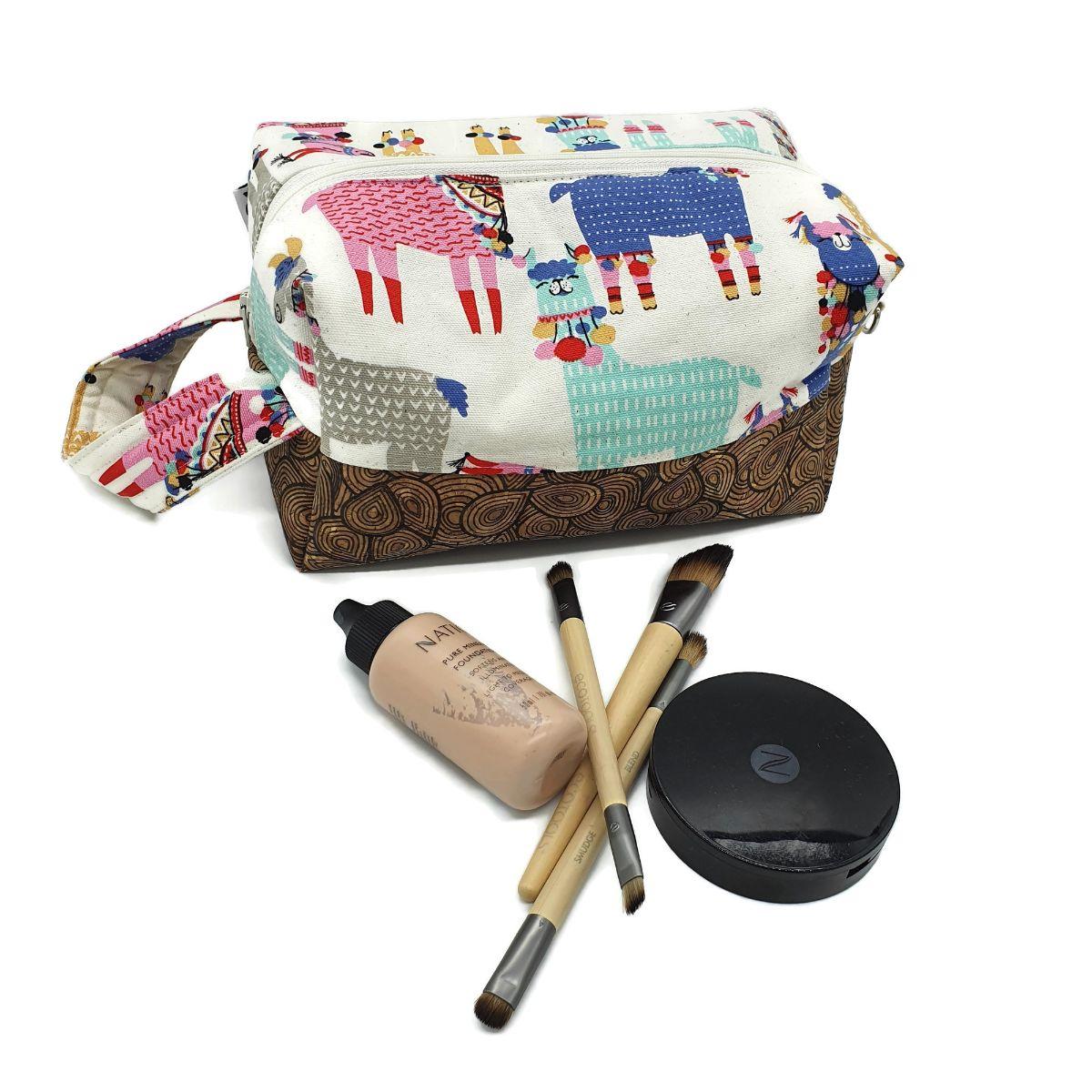 Llama Makeup Bag