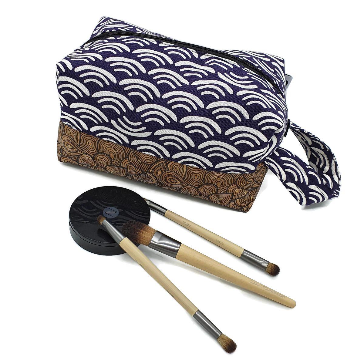 Purple Makeup Bag