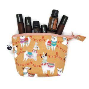 llama essential oil bag